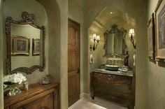 Powder Room ...ok                          -    by R.J. Gurley Custom Homes