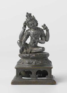 Avalokiteshvara, Anonymous, 870 - 930 Buddha Sculpture, Buddha Statues, Indonesian Art, Buddha Painting, Durga, Tibet, Saree Blouse, Buddhism, Namaste