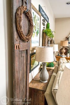Neutral Rustic Home Decor Ideas