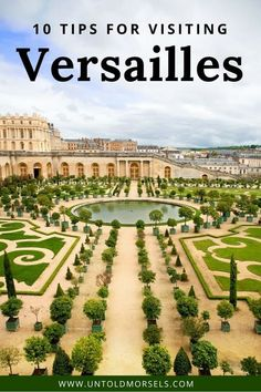 Versailles Palace France - a day trip from Paris to Versailles is a highlight of any trip to France. Here are our tips for visiting the magnificent chateau and gardens of Versailles. Don't miss the stunning Versailles interior, Hall of Mirrors, and Marie Antoinette's summer palace Le Petit Trianon #paris #france #traveltips via @untoldmorsels