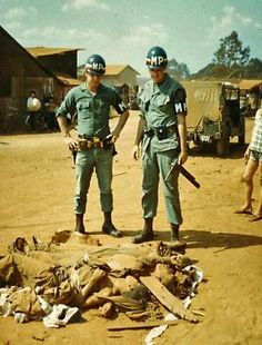 Call of Duty Bodies of  VC killed during the 1968 TET Offense.