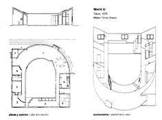 Koshino House Ground Floor Plan Tadao Ando  Tadao Ando