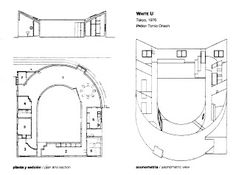 Koshino House Ground Floor Plan Tadao Ando  Tadao Ando  Tadaoo House Architecture board