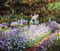 モネの庭。モネってたくさん描いているんですよね。 その中のいくつかをご紹介しましょう。 お花が盛りの絵がいいですね♪ 見ていて、幸せな気持ちになってきます。 1873 アルジャントゥイユのモネの庭 ワシントン・ナショナルギャラリー モネw286 送信者 クロード・モネ デジ...