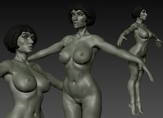 Xavier Dabrowski's Sculpting & modeling 3d