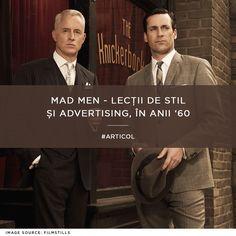 Un serial care merită atenția ta nu doar pentru poveste și personaje - ci și pentru stilul lor vestimentar: http://www.cozacone.ro/lifestyle/mad-men-lectii-de-stil-si-advertising-in-anii-60/