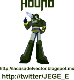 Los transformers. Nombre: Hound.