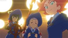 little witch academia enchanted parade