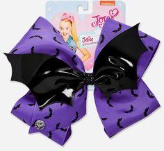 In Hand! Justice JoJo Siwa Halloween Bats Purple Black LG Hair Bow Dance School | Clothing, Shoes & Accessories, Kids' Clothing, Shoes & Accs, Girls' Accessories | eBay!