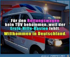 lustiges Bild 'für den Rettungswagen......jpg'- Eine von 25546 Dateien in der Kategorie 'klasse Sprüche und Witze' auf FUNPOT.