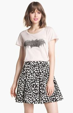 The bat tee is super cute!  Zoe Karssen 'Bat' Tee available at #Nordstrom