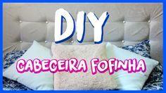 DIY cabeceira para a cama