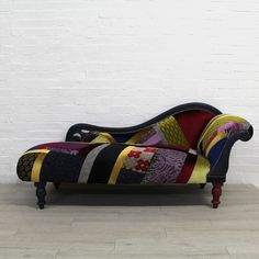 Luxuriously Reupholstered Victorian Chaise Longue | Recover Team Design Furniture, Bedroom Furniture, Kingdom Of Great Britain, Upcycled Furniture, Fabric Design, Upholstery, New Homes, Victorian, Living Room
