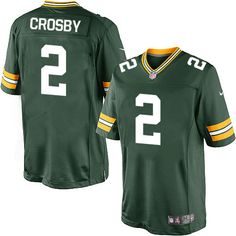 1e998eab5 Nike Limited Mason Crosby Green Men's Jersey - Green Bay Packers #2 NFL Home