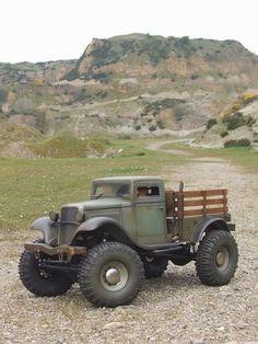 #Pickup #trucks Old Pickup Trucks, Rc Cars And Trucks, 4x4 Trucks, Diesel Trucks, Custom Trucks, Lifted Trucks, Cool Trucks, Chevy Trucks, Jeep Pickup