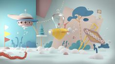 The Life Aquatic on Behance