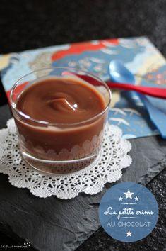 La petite crème au chocolat (sans lactose)