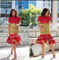 100 Unique Latest Ankara Styles for Ladies - Olubunmi Mabel Ankara Dress Styles, Latest Ankara Styles, Emo Dresses, Fashion Dresses, Party Dresses, Punk Fashion, Lolita Fashion, African Traditional Dresses, Victoria Dress
