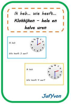 © JufYvon: I have, who has . Clock watching - full hour and half hour Math Clock, Cooperative Learning, Business Education, Play To Learn, Teaching Math, Grade 1, Curriculum, Classroom, Teacher