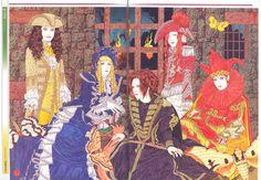 Wha-?!?! Takato Yamamoto did an illustration of Malice Mizer?!?! WHAT?! (((o(♡´▽`♡)o)))