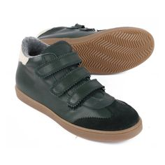 Triple Velcro High-Top Trainers-product