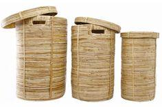 San Tvättkorg 3St Rotting - Chilli
