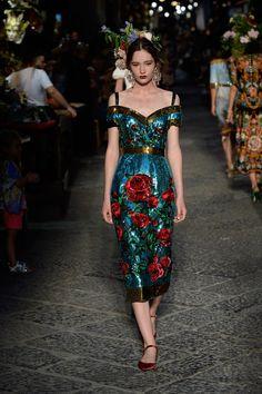 Dolce & Gabbana Alta Moda AW16-17 Couture