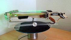 """AWESOME """"Who Cares About Slingshots When This Crossbow Fires Spinning Saw Blades?"""""""