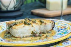Pesce spada con capperi alla calabrese (Calabrian Swordfish with Capers) | Memorie di Angelina