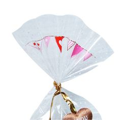 Red Flower Cello Bags for cute gifts. Special gift ideas. Korean ...