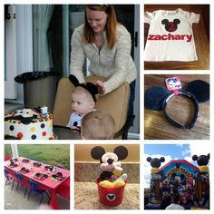 Mickey Mouse themed birthday party http://laderamom.wordpress.com/2013/02/11/mickey-mouse-birthday-party/