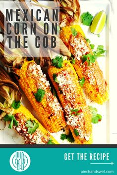 Grilled Mexican Corn on the Cob (also called Mexican Street Corn or Elote Corn) is a favorite street food in Mexico that's easy to make at home on your grill with this simple recipe. Serve it in this classic way or mix things up and serve it as a Mexican street corn recipe off the cob, aka Mexican Street Corn Salad! #mexicanstreetcorn #mexicancornonthecob #cornonthecob #grilledmexicanstreetcorn #cincodemayo #mexicancorn #elotecorn Healthy Grilling Recipes, Quick Healthy Meals, Easy Meals, Mexican Street Corn Salad, Mexican Corn, Potluck Side Dishes, Side Dishes Easy, Foil Packet Meals, Corn Recipe