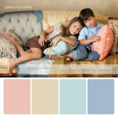Family Portrait Palette {perfectly pastel} Clothing Suggestion - Kent Smith Photography