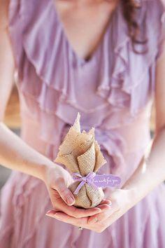Inspiração para um casamento em lilás e sarapilheira