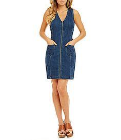 Calvin Klein Jeans Classic Denim Dress #Dillards