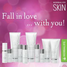 Herbalife SKIN line can change the look of your skin forever. My skin has never looked this good in my life or felt this smooth!COM/DCLAPP Buy Herbalife, Herbalife Meal Plan, Herbalife Motivation, Herbalife Shake Recipes, Herbalife Distributor, Herbalife Nutrition, Herbalife Products, Skin Nutrition, Nutrition Club