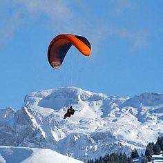 Bucket List: Before I Die! - Paragliding: done in Switserland
