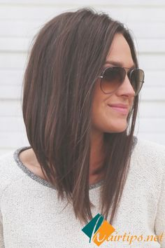 Long Bob Hairstyles 25 Best Long Bob Hair  Long Bob Short Haircuts And Haircuts