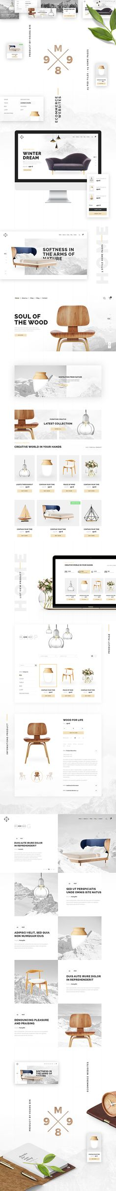Ecommere PSD Template