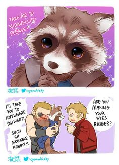New skill || Avengers Infinity War || Thor, Rocket & Starlord || Cr: 澈(Che)