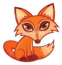 paintings of cute cartoon foxes - Google Search