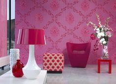 Image result for fuschia pink, plum, wallpaper, contemporary