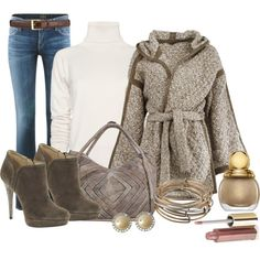 A fashion look from December 2012 featuring MANGO sweaters, Citizens of Humanity jeans and KORS Michael Kors ankle booties. Browse and shop related looks.