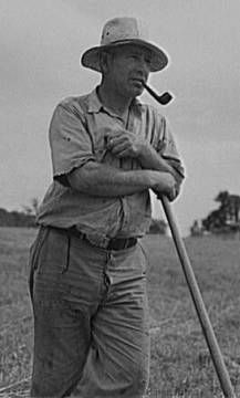 1940s Farmer: Image courtesy of the Library of Congress American Memory Collection and  the Farm Security Administration