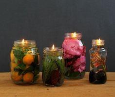 Cómo hacer lámparas aromáticas naturales con aceite