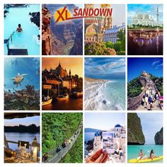 With a new year comes new travel resolutions and dreams. Have a look at our bucket list destinations and be inspired. Do more and see more with XL Sandown Travel in 2017! http://sandowntravel.co.za/bucket-list-2/