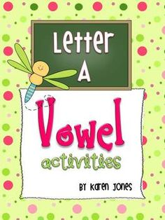 Short & Long A activities and centers! $