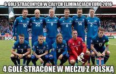 Polska strzeliła aż 4 gole rywalom w meczu towarzyskim • Islandia straciła 6 goli w całych Eliminacjach Euro 2016 • Wejdź i zobacz >> #polska #pol #memy #pilkanozna