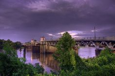 """Lea Joyner Bridge"" taken in West Monroe, Louisiana"