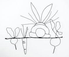 wire art - Google Search
